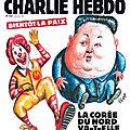 Bientôt la paix - <b>Charlie</b> <b>Hebdo</b> N°1345 - 2 mai 2018