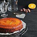 ...Gâteau à la <b>mandarine</b> et poudre d'amande et noisette... (Nigella Lawson, sans gluten)