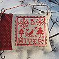 Un coussinet dans la neige