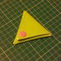 Porte-monnaie triangle magique