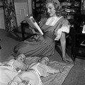 1947 Norma Jean modèle de publicité par <b>Dave</b> <b>Cicero</b>