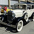 <b>Ford</b> model <b>A</b> Deluxe Tudor-1931