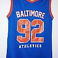 Maillot d'athlétisme, Baltimore, <b>12</b> <b>ans</b>