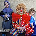Un clown, une princesse et son chevalier