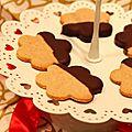 <b>Bredeles</b> à la cannelle et au chocolat