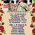 Béziers - cartel du vii grand gala taurin 2016