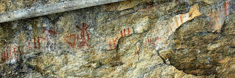 Mauricie_2a_peintures rupestres