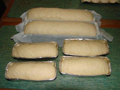 2008 04 11 Le pain de mie avant l'enfournement
