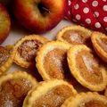 Apple cheese tarts
