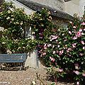 Banc public - Village fleuri de Chédigny (37)