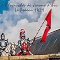 Guerre de 100 ans - la chevauchée de Jeanne d'Arc - Poitou 1429