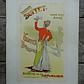 Collection ... lithographie originale eugenie buffet (1895) *les maîtres de l'affiche*