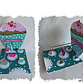 cARTe pop-up : un cup-cake géant