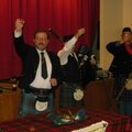 Burns supper (1): haggis superstar