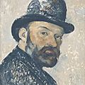 Self portraits by <b>Cézanne</b> go on public display for the first time in the UK