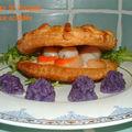 <b>Coquilles</b> St Jacques à la sauce acidulée