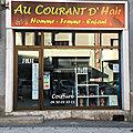 AU COURANT D'Hair La Roche-sur-Foron Haute-Savoie <b>coiffeur</b>