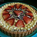 Recette express de la tarte aux fraises