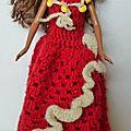 Rouge et Blanc pour Barbie