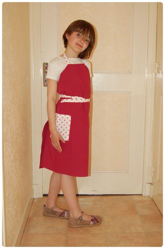 Robe tablier Rosine