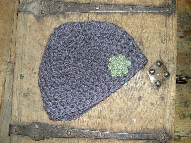Bonnet crochet