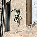 Vélo suspendu, Montpellier_0683