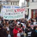 4-grévistes à 95% 12-03-2010