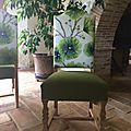 4 chaises rénovées