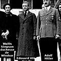 <b>1936</b> - LE GOUVERNEMENT BRITANNIQUE ECARTE DU TRONE LE PRO-NAZI EDOUARD VIII