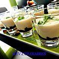 panna cotta cocos à la confiture d' olives 1