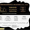 2014 - stages de théâtre à alès (gard)