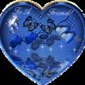 C'est un très joli prix ....ce coeur bleu est magnifique...