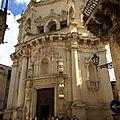 Richesse des Pouilles et de l'Apulie (22/24). Lecce – San Matteo, Santa Chiara et Santa <b>Croce</b>.