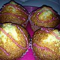 Muffins à l'ananas et au miel