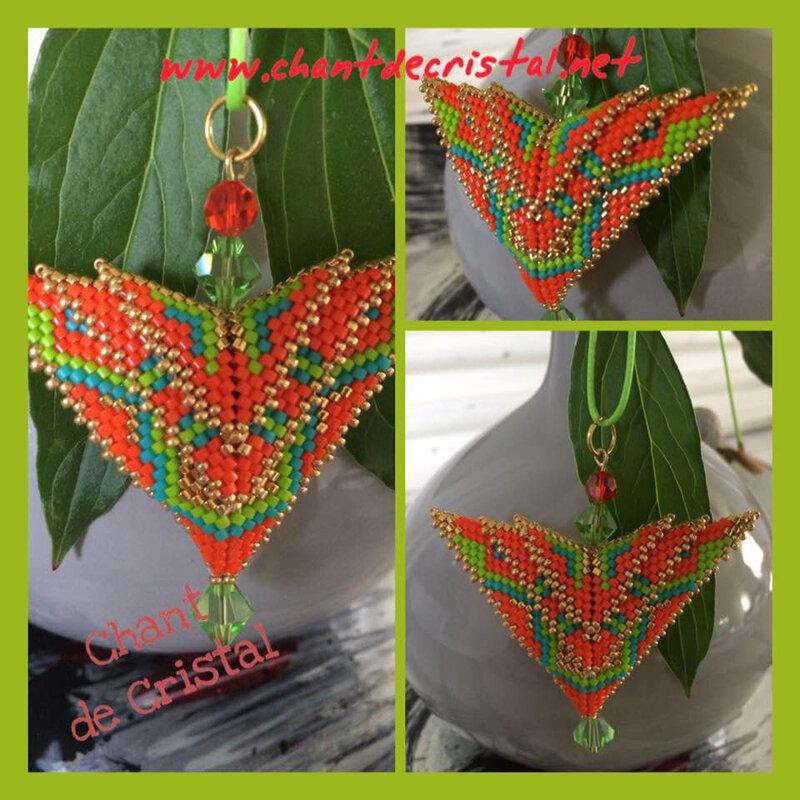 pendentif Phoenix de Karen Long