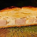 <b>Tresse</b> feuilletée saucisses fromage