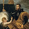 15 RUBENS Allégorie de Charles Quint , 1607 Salzburg Residenzgalerie