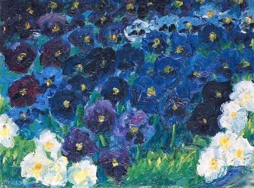 Les fleurs bleues_Emil Nolde_1908