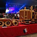 Truck et remorque en bois (hauteur : 1.50m !)