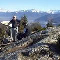 Roche du guet 1209 m d'arbin