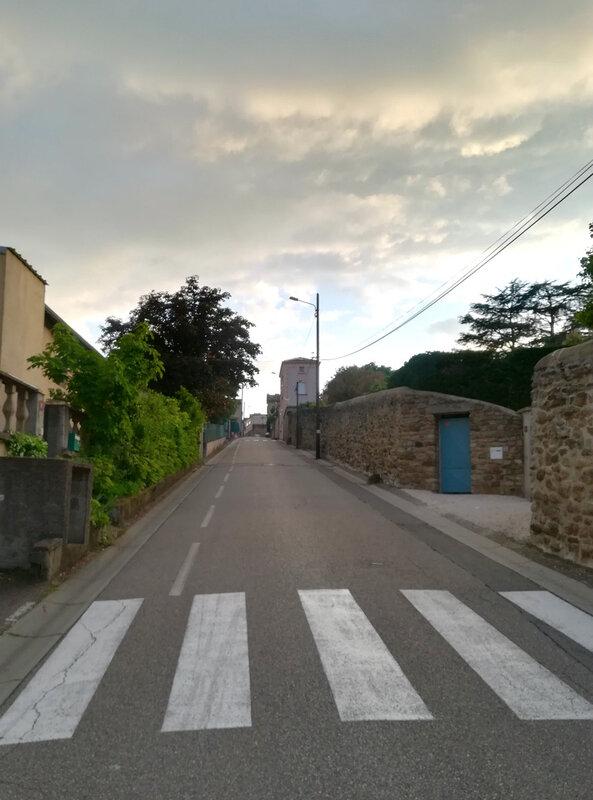 montée de la rue des Capucins