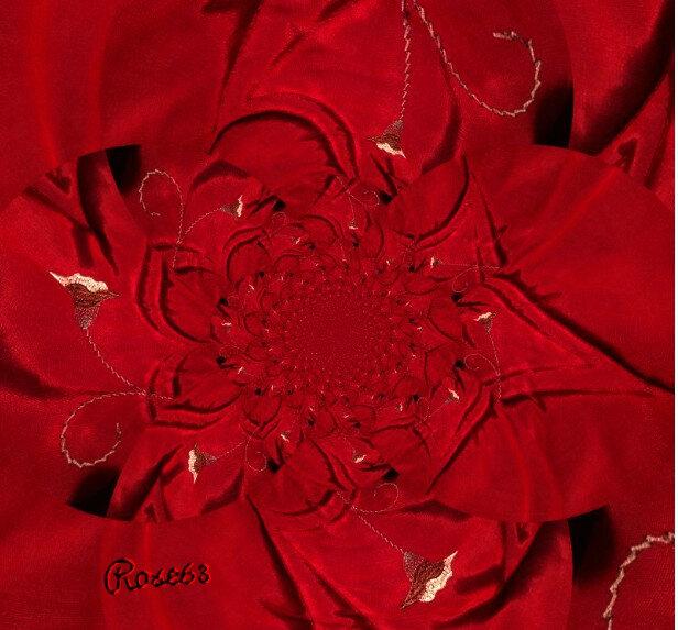 Un tissu d'ameublement Rose63