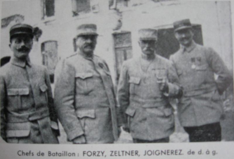 Chefs de Bataillon du 407°