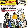 humour fake new lune