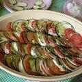 Le tian de légumes