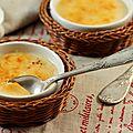 Crème brulée ou presque sans oeuf au caramel au beurre salé