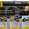 A new web site for the Normandy Tank Museum