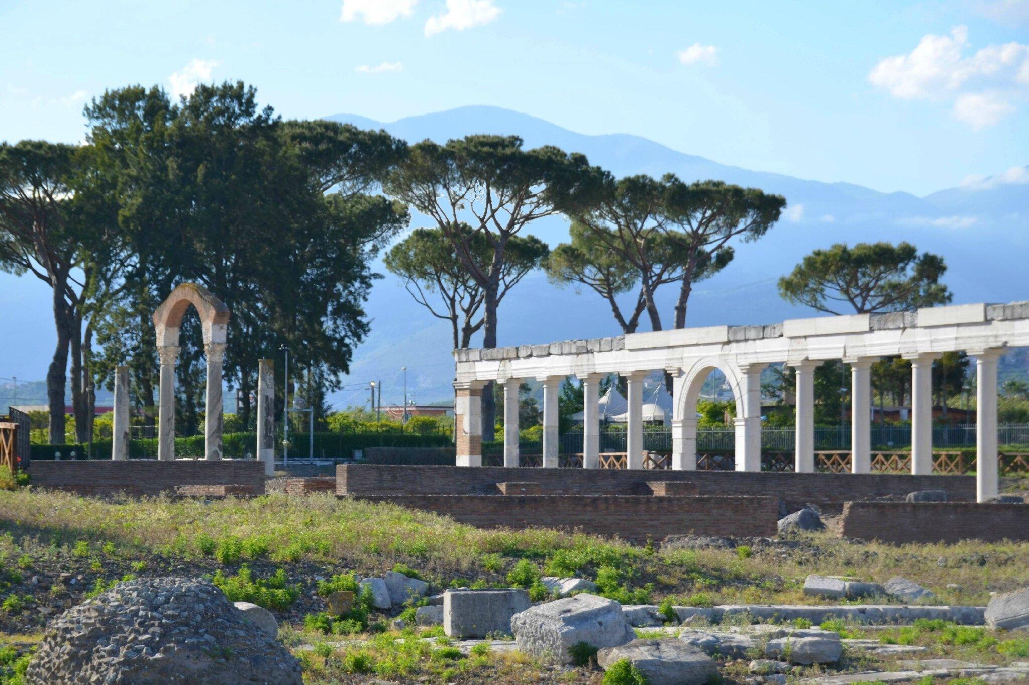 Ruines romaines de Minturnes
