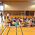 Burnhaupt-le-haut: les élèves de 6ème découvrent l'association sportive du collège