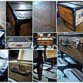 Valise-table - montage